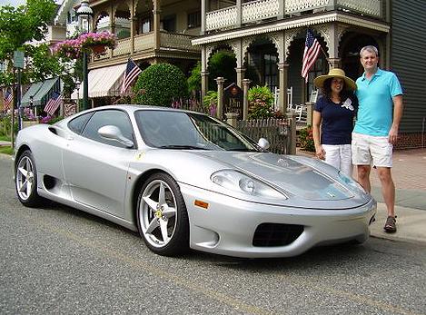 Silver Ferrari